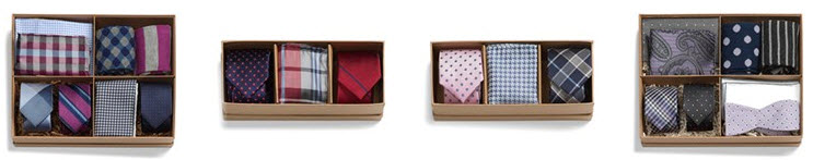 Nordstrom Ties and Pocket Squares